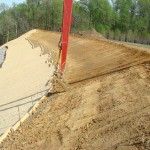 Government project: Slope stabilization by WEC, Westmoreland State Park, Virginia