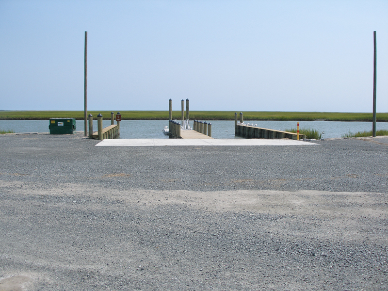 National Park Service Boat Ramp and Tending Piers, Wise Point
